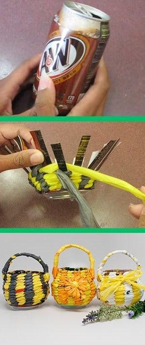 manualidades con objetos reciclados faciles