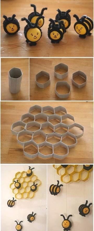 manualidades con objetos reciclados paso a paso
