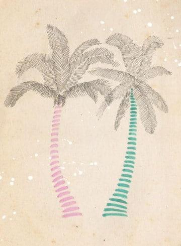 palmeras para dibujar de playa