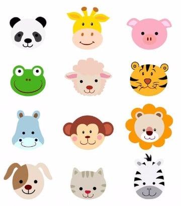 Viseras de animalitos | Manualidades para niños