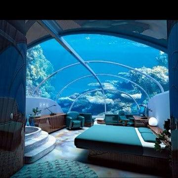 casas debajo del mar dubai