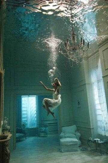 casas debajo del mar water discus