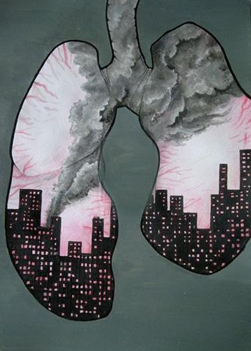 Imagenes de la contaminacion atmosferica para dibujar for Minimal art que es