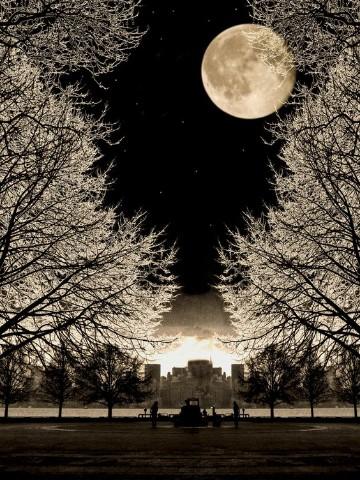 imagenes de lunas hermosas romanticas