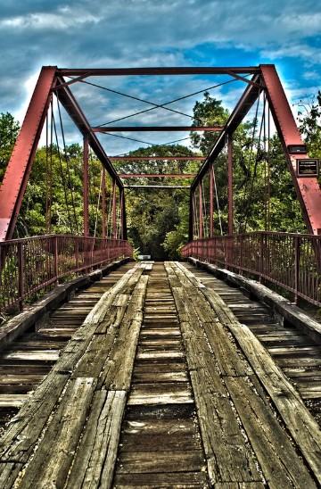 imagenes de puentes de madera famosos