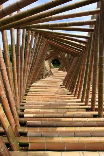 imagenes de puentes de madera palitos