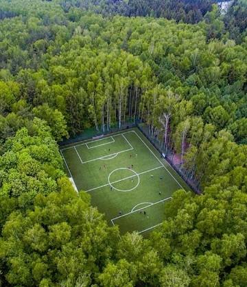 imagenes de un campo de futbol con jugadores