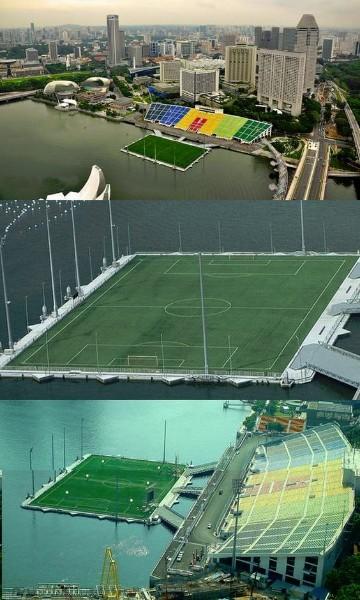 imagenes de un campo de futbol en estadio