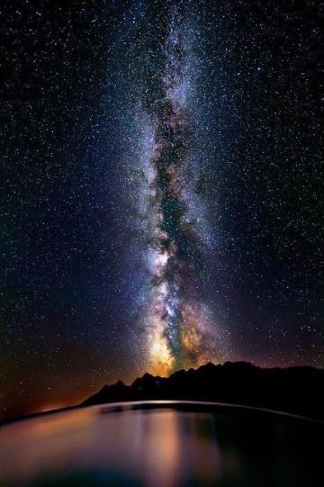 imagenes del lago titicaca noche