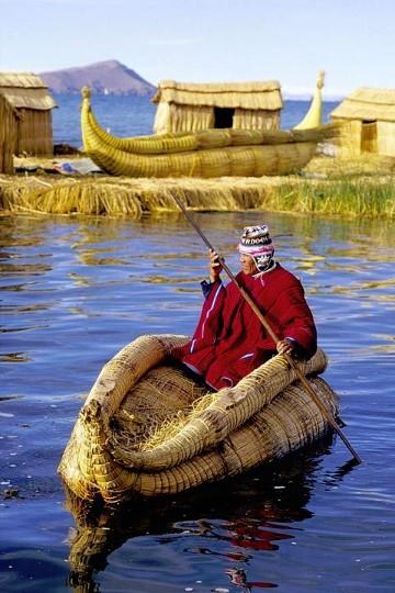 imagenes del lago titicaca peru
