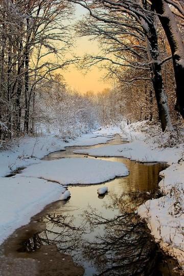 paisajes de invierno bonitos para escrito