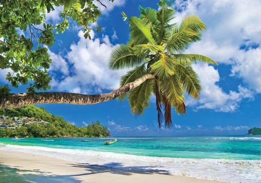 buenos días con paisajes hermosos playa