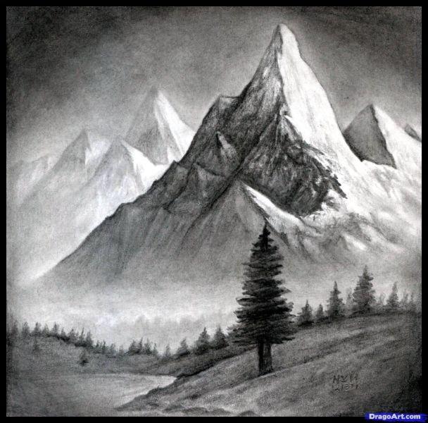 fotos para dibujar de paisajes hermosos