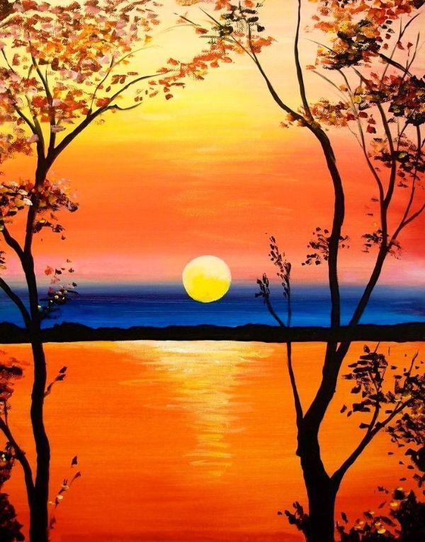 fotos para dibujar de paisajes realistas