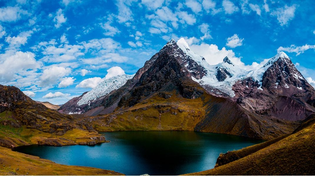paisajes hermosos del peru nevado Ausangate