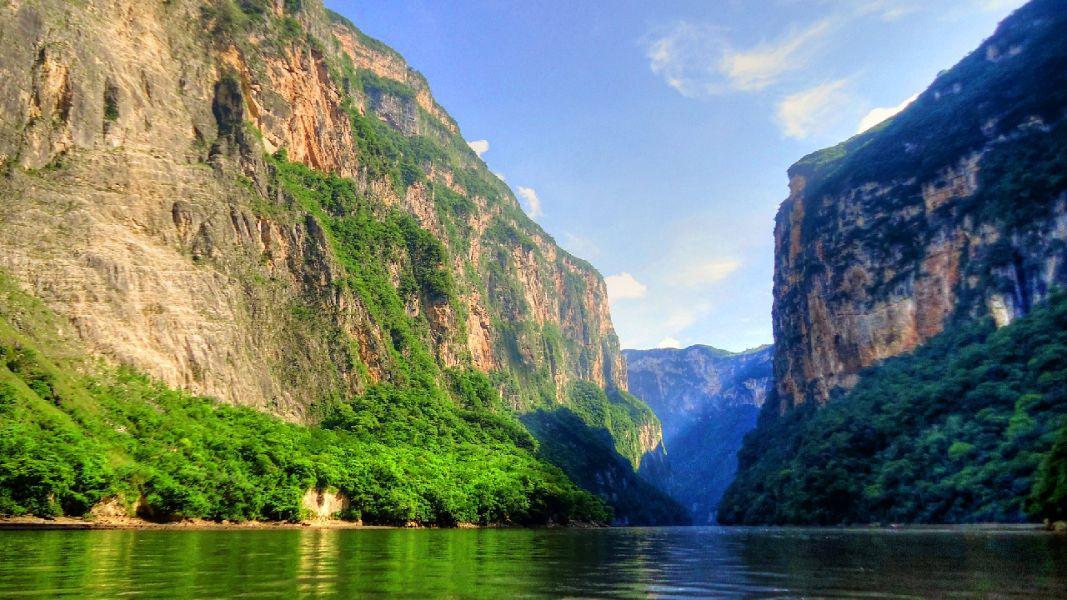 paisajes hermosos en mexico cañon del sumidero