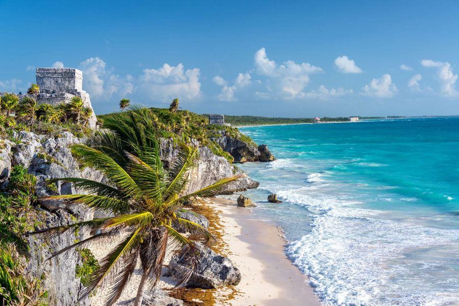 paisajes hermosos en mexico playa rivera maya