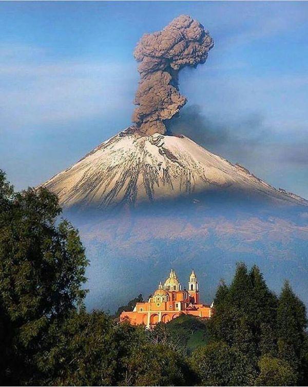 paisajes hermosos en mexico popocatepetl