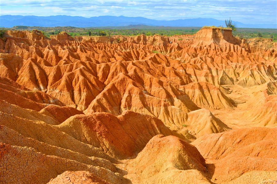 paisajes lindos de colombia desierto
