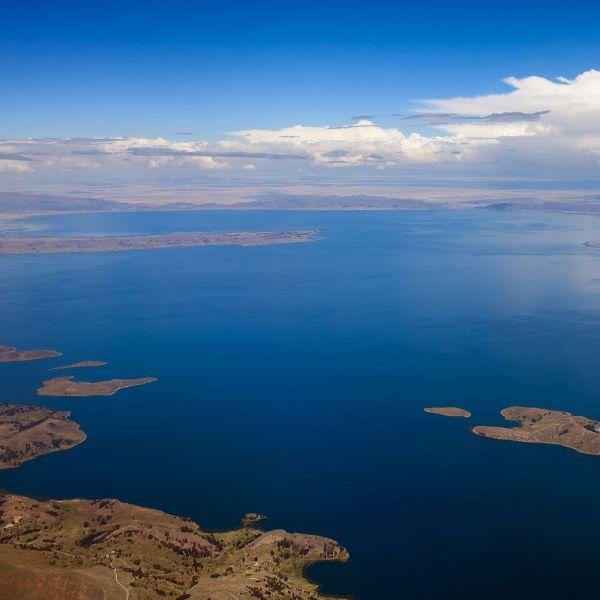 lagos y lagunas del perú titicaca