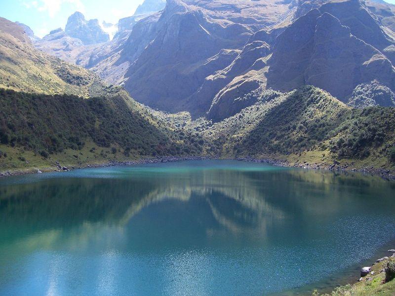 lagos y lagunas del perú uspaccocha