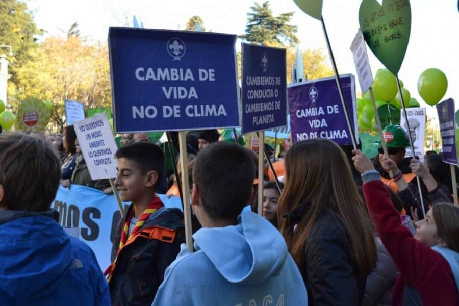 pancartas sobre el medio ambiente para reflexionar