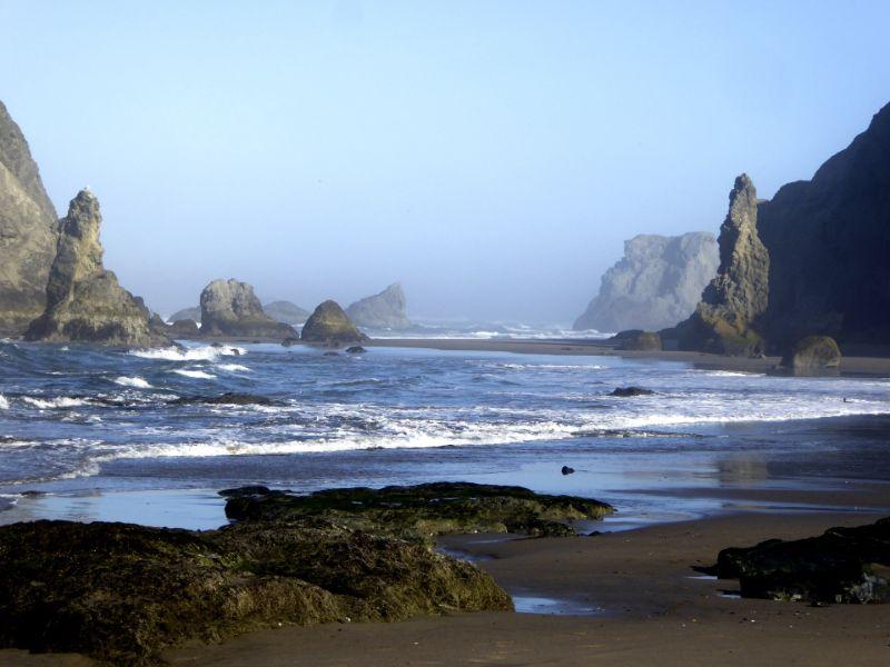 playas mas bellas del mundo rocosa Bandon Oregon