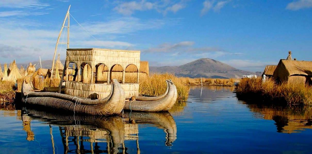 reserva nacional del lago titicaca hermoso paisaje